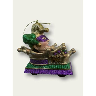 Piazza Mardi Gras Float Ornament