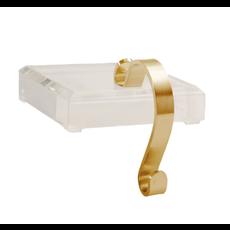Fig & Dove Fig & Dove Brass Acrylic Stocking Holder