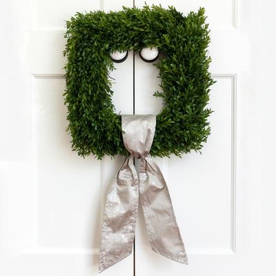 Fig & Dove Fig & Dove Silver Grain Wreath Sash