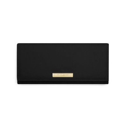 Katie Loxton SOFT PEBBLE JEWELRY ROLL - Black - 29.7x10.6x22cm