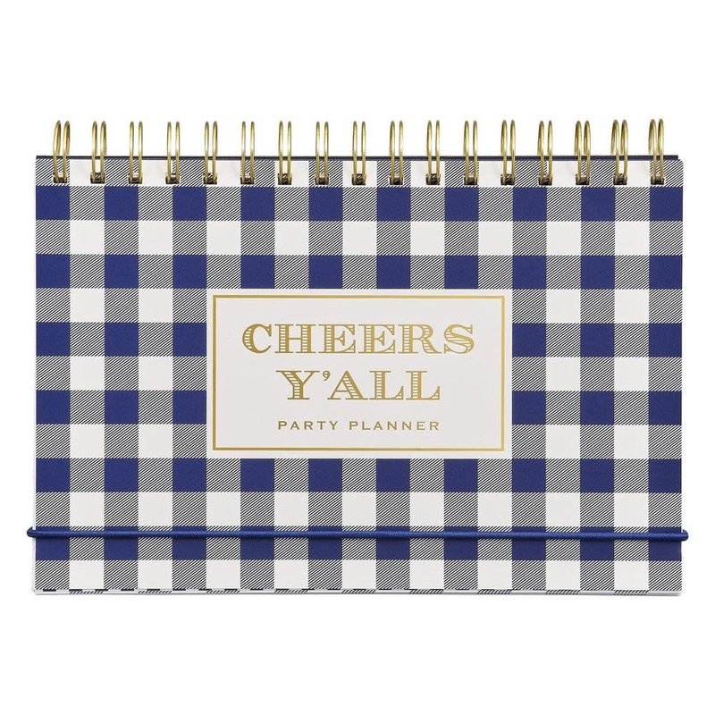 Wild & Wolf PARTY PLANNER - GINGHAM