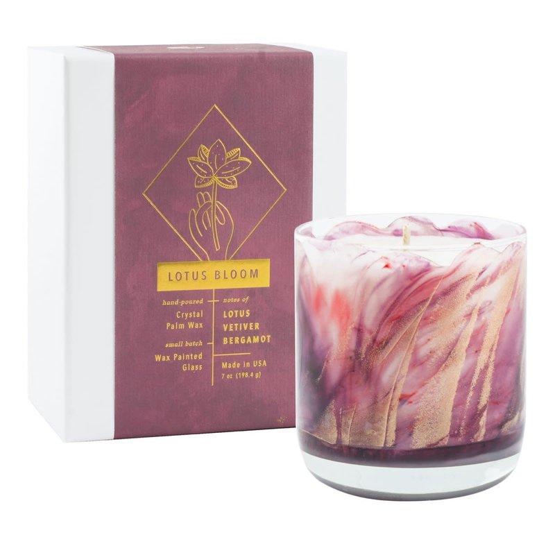 Northern Lights Lotus Bloom Candle 8 oz