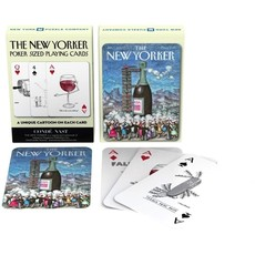 New York Puzzle Company Have a Drink Cartoons Playing Cards