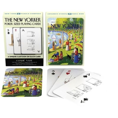New York Puzzle Company Fine Arts Cartoons Playing Cards