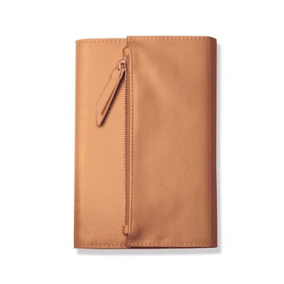 Fringe Copper Faux Leather Clutch Journal