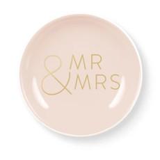 Fringe Garland Mr. & Mrs. Round Tray