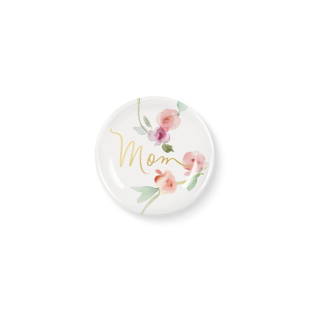 Fringe Garland Mom Round Ceramic Mini