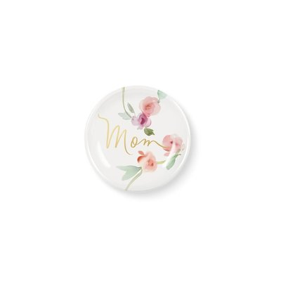 Fringe Garland Mom Round Ceramic Mini