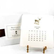 Maison de Papier Hunt Calendar with Easel