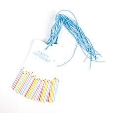 Maison de Papier Happy Birthday Candles Gift Tag
