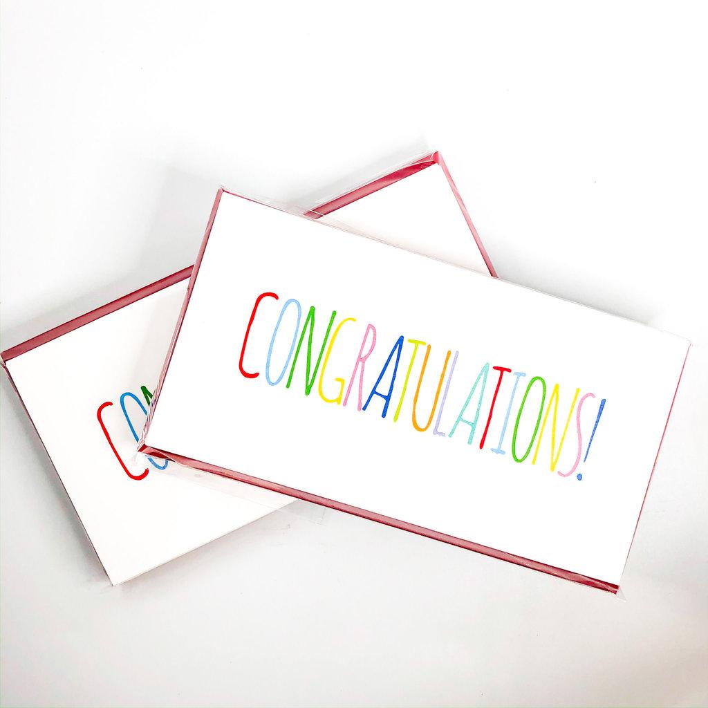 Maison de Papier Congratulations Currency Enclosure