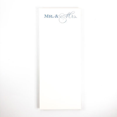 Maison de Papier Mr. & Mrs. Notepad