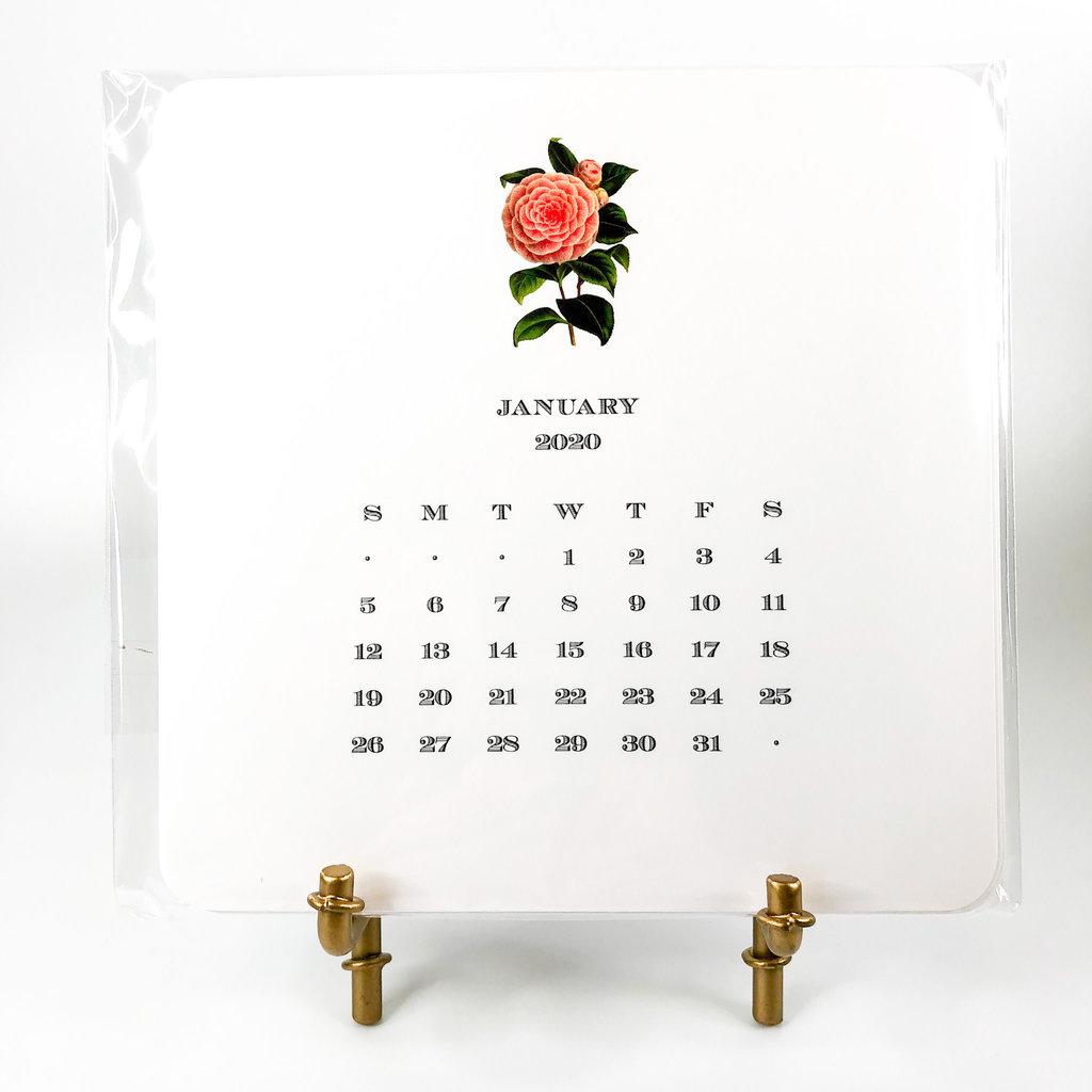 Maison de Papier Garden Calendar with Easel