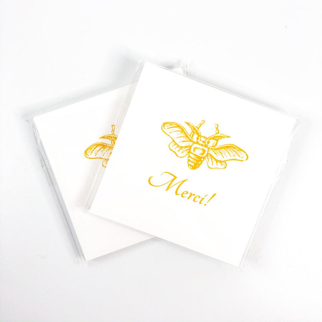 Maison de Papier Bee Merci Gift Tags