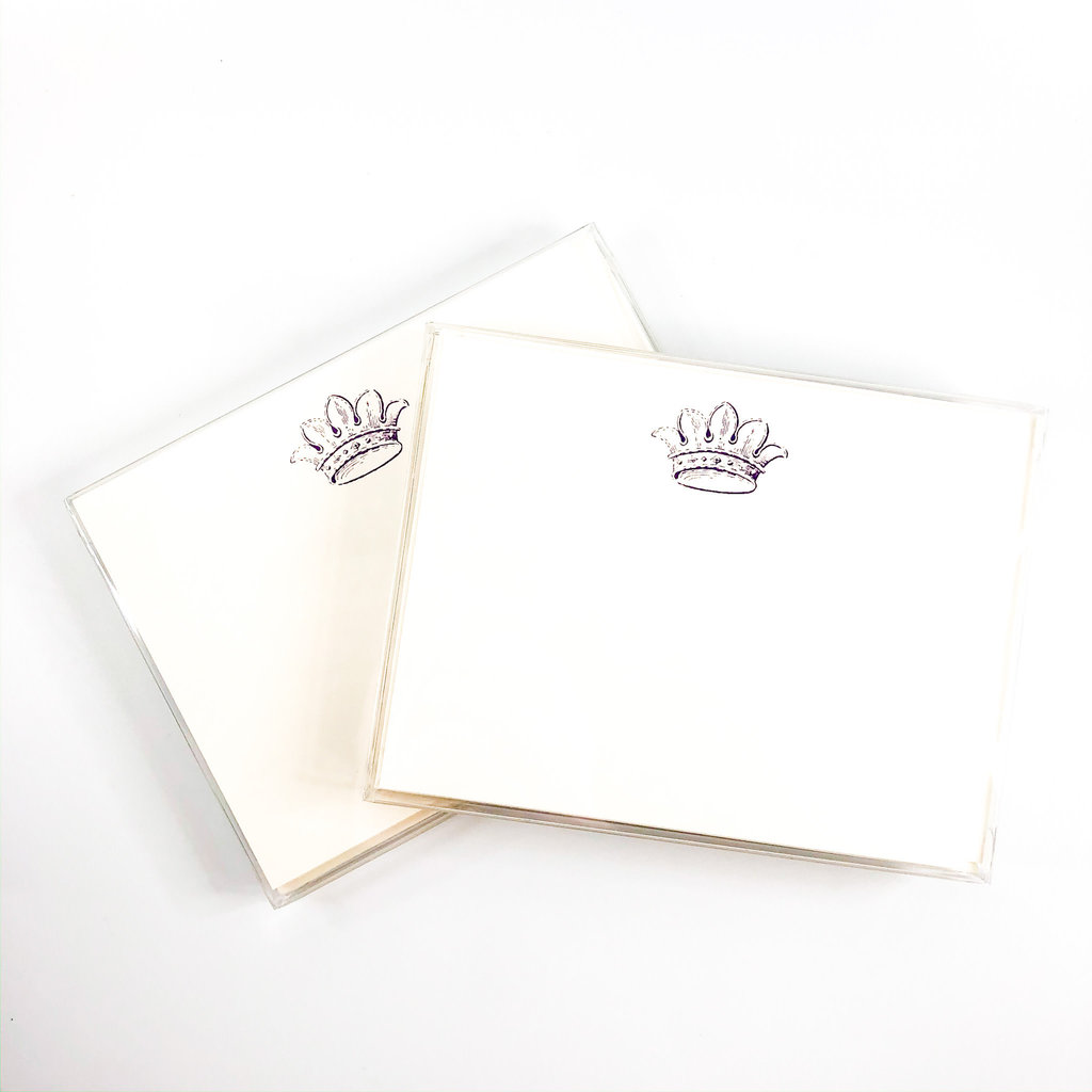 Maison de Papier French Crown Flat Cards and Envelopes