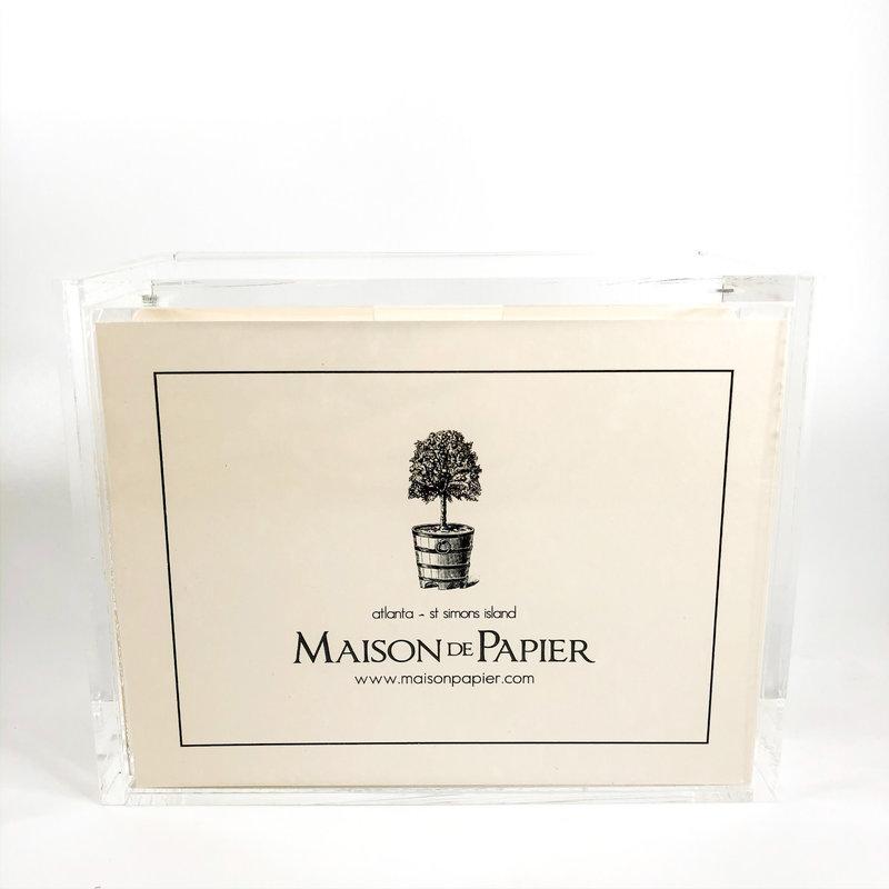 Maison de Papier Verse Cards with Box