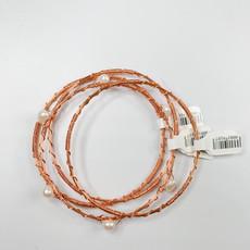 Fleur de Liz Rose Gold Wire Bracelet Fleur de Liz