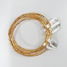 Fleur de Liz Gold Wire Bracelet Fleur de Liz