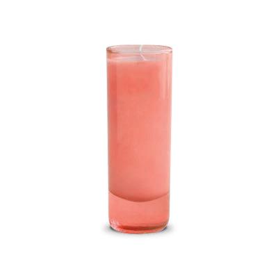 Mixture Peach Blossom Kombucha Votive Coral