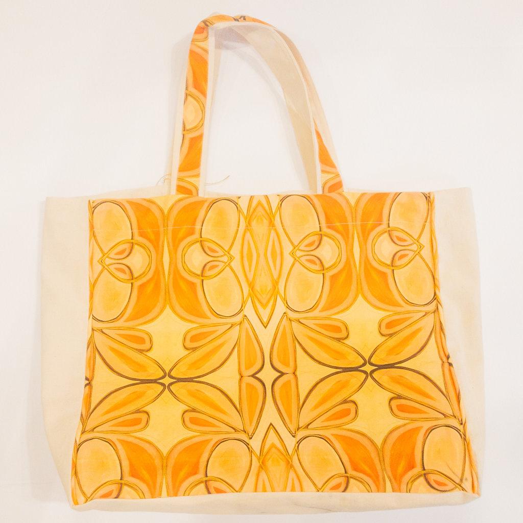 Amanda Talley Amanda Talley Linen Tote Bag