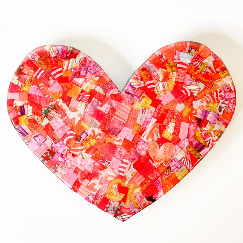 Cynthia Kolls Consignment Cynthia Kolls Small Heart Collage