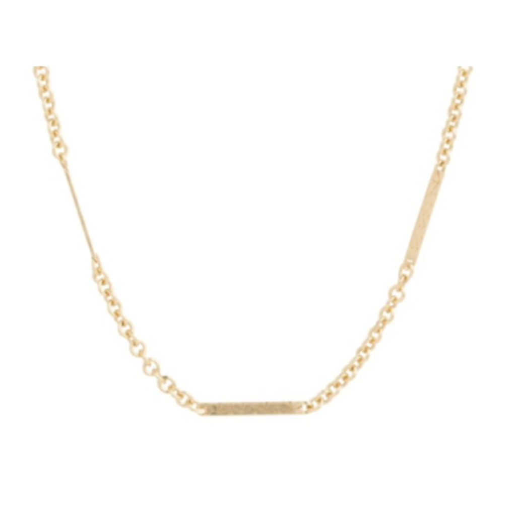 E Newton 15'' CHOKER SIMPLICITY BLISS CHAIN - GOLD