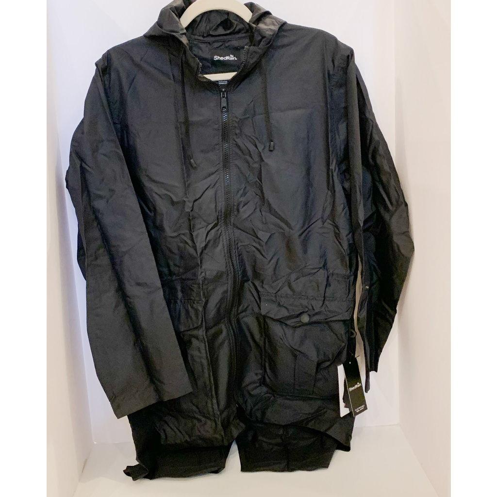 ShedRain Black Rainwear Small