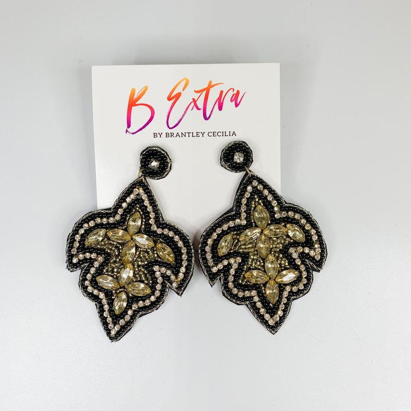 Brantley Cecilia Brantley Cecilia Fleur de Lis Earrings