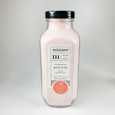 Mixture Grapefruit & Sweet Vanilla Bath Fizz