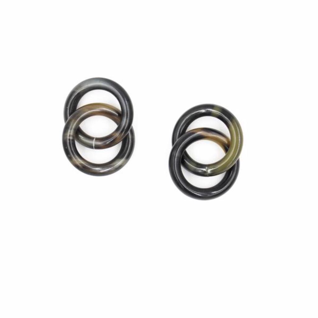Sunshine Tienda Horn Lock Earrings