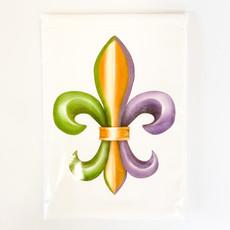 Mary Lake Thompson Fleur de Lis Bagged Towel