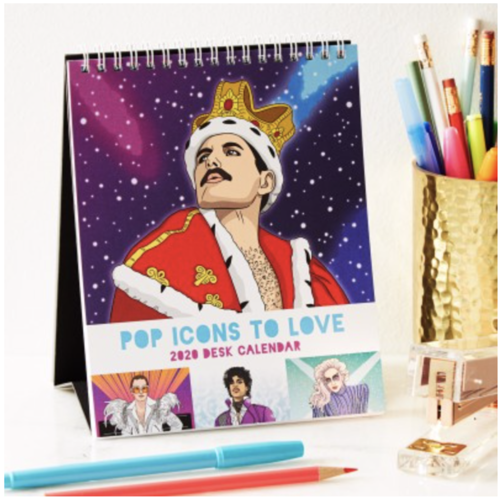 The Found 2020 Pop Icons to Love Calender