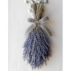 Park Hill Dried Lavender Hanging Bundle with Ribbon