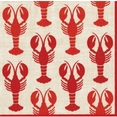 Caspari Lobsters Cocktail