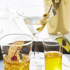 Raz EC 5.5'' Martini Ornament