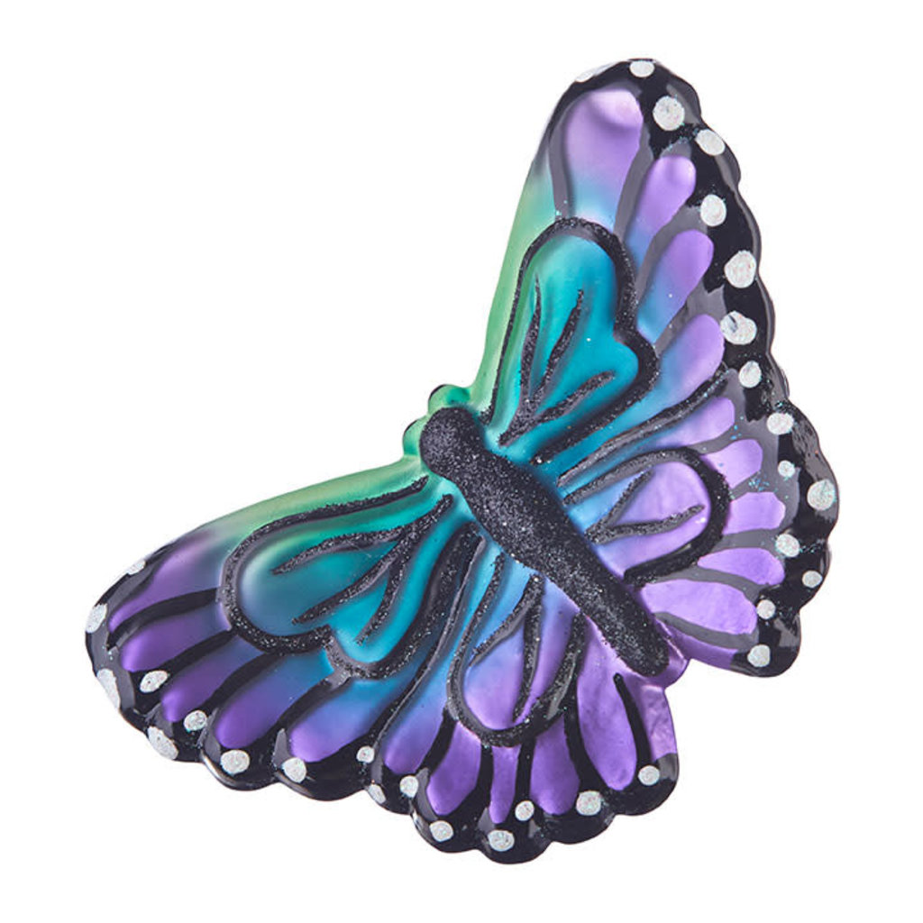 Raz EC 5'' Clip-On Butterfly Ornament