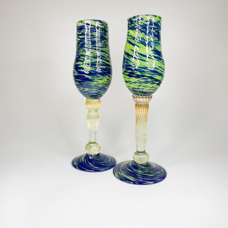 Ridge Walker Glass Ridge Walker Champagne Flute