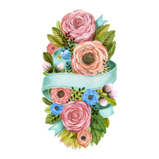 Hester and Cook Hester and Cook Seasonal Spring Floral Table Accent