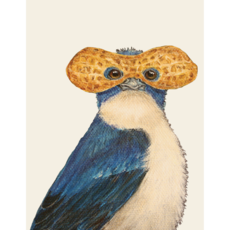 Hester and Cook Hester and Cook Lance Tree Swallow Card - A2 - A2 Envelope
