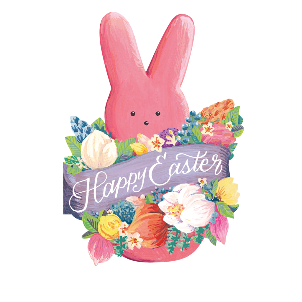 Hester and Cook Hester and Cook Happy Easter PEEPS® Card