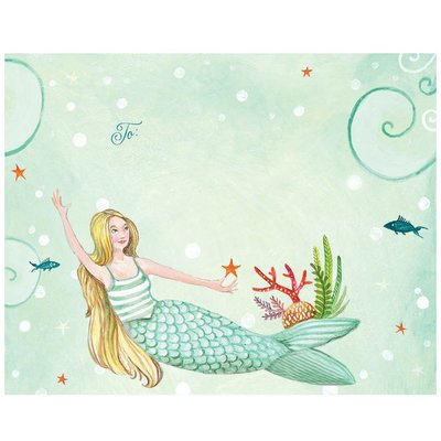 Hester and Cook Hester and Cook Mermaid Fold Note