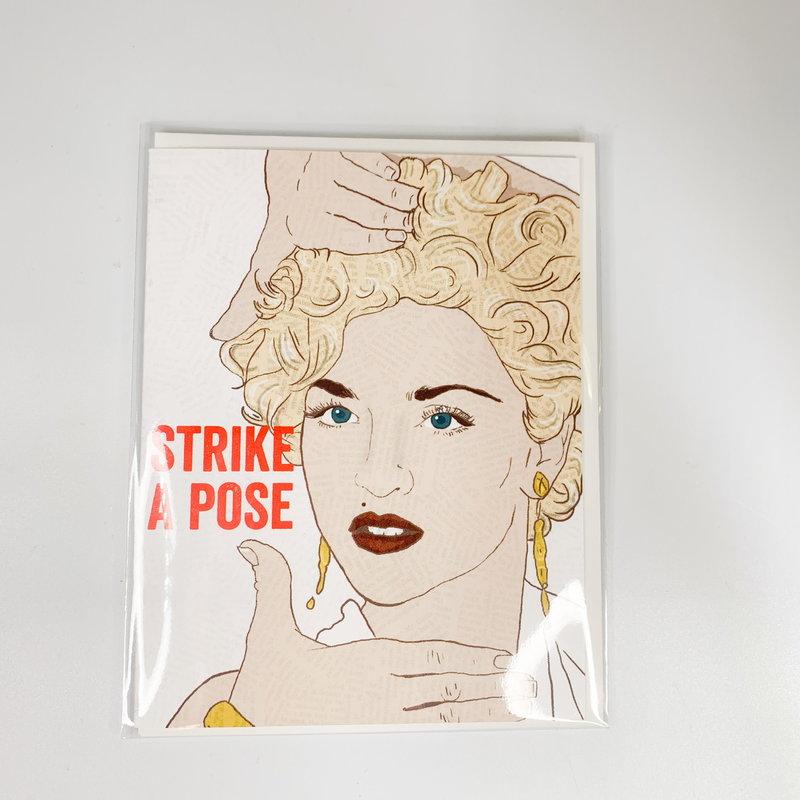 The Found Madonna Strike a Pose
