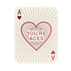 Hester and Cook You're Aces Card