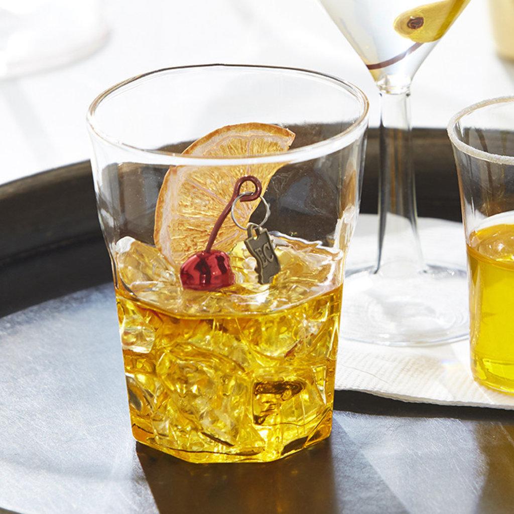 Raz EC 3.5'' Old Fashioned Cocktail Ornament