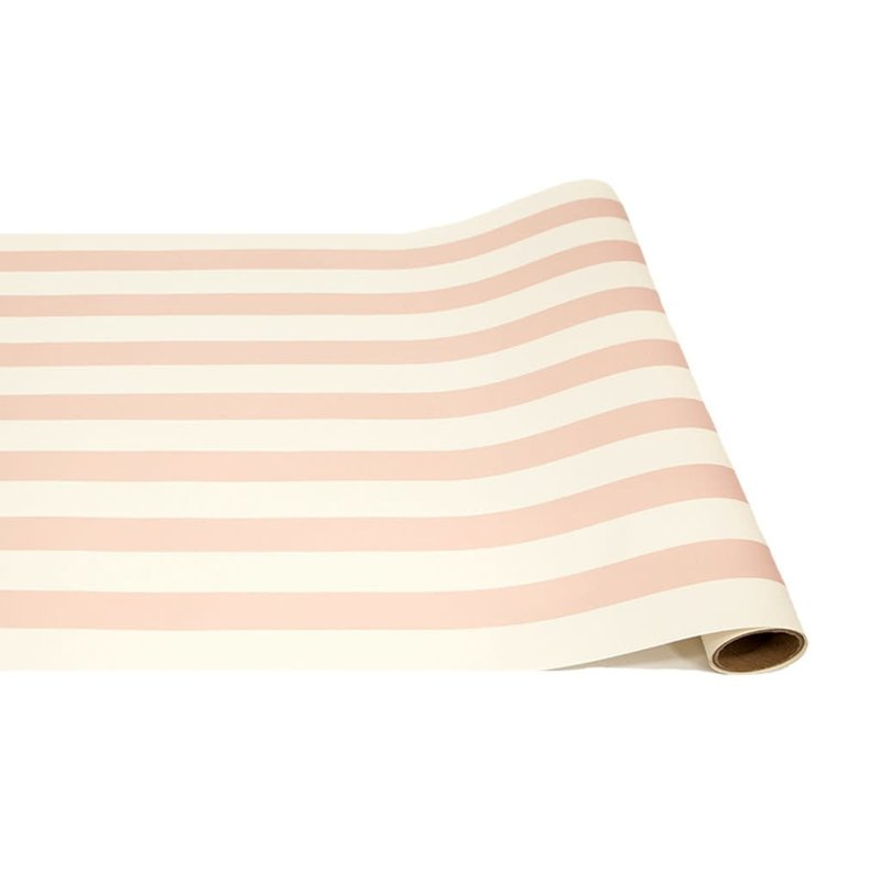 Hester and Cook Hester and Cook Pink Classic Stripe Runner