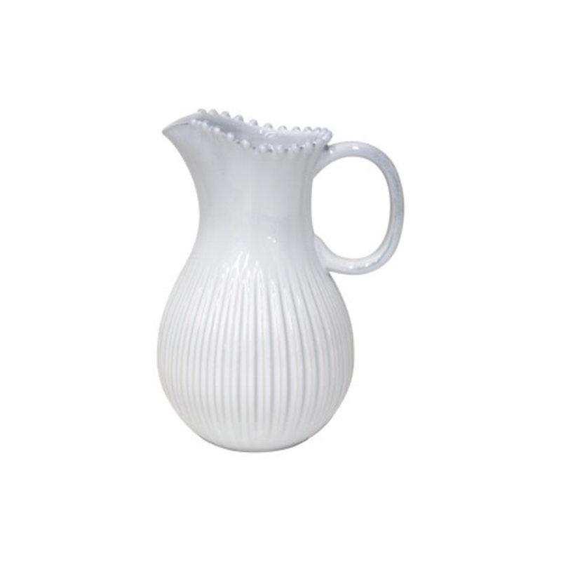Casafina PITCHER (1) PEARL WHITE