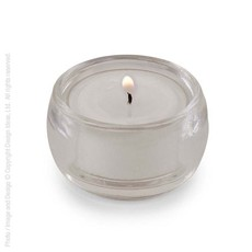 Design Ideas Bubble Candle-Clear / SQ12/120