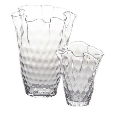 Abigails Abigails Cachepot Vase Pam Ruffle Edge Top Small