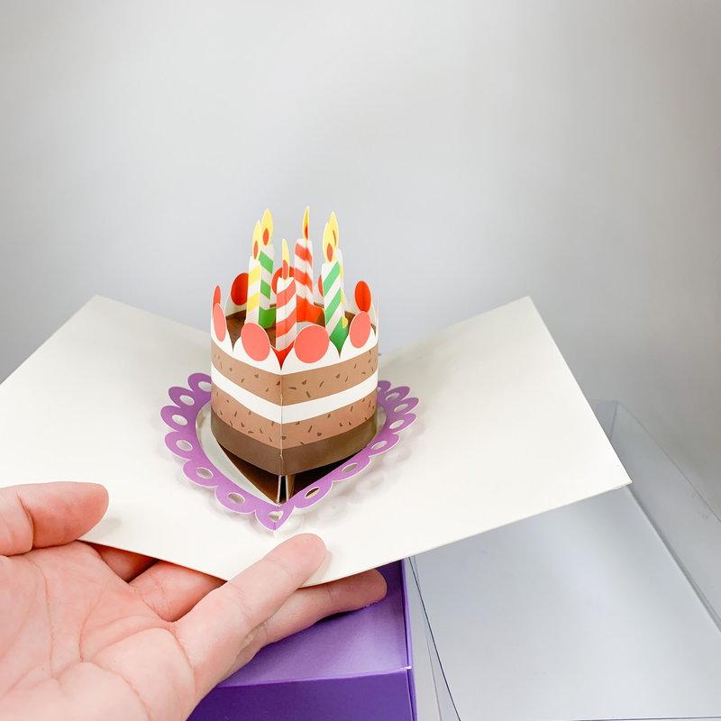 Up With Paper BIEDERSTADT POP UP CAKE
