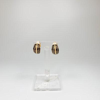 Lordane Two Tone Clip Earring 22E9461